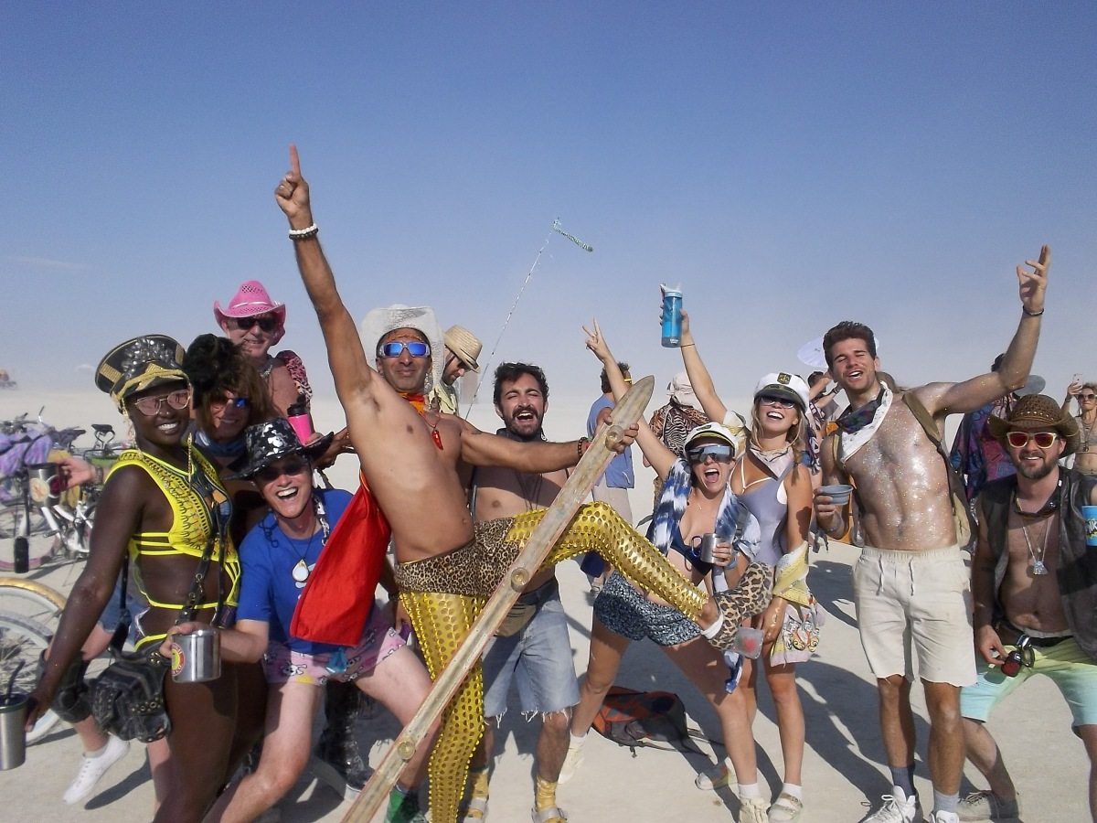 What is Burning Man and why are YOU there?