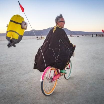 A morning bike ride - Courtesy of Ben Von Wong
