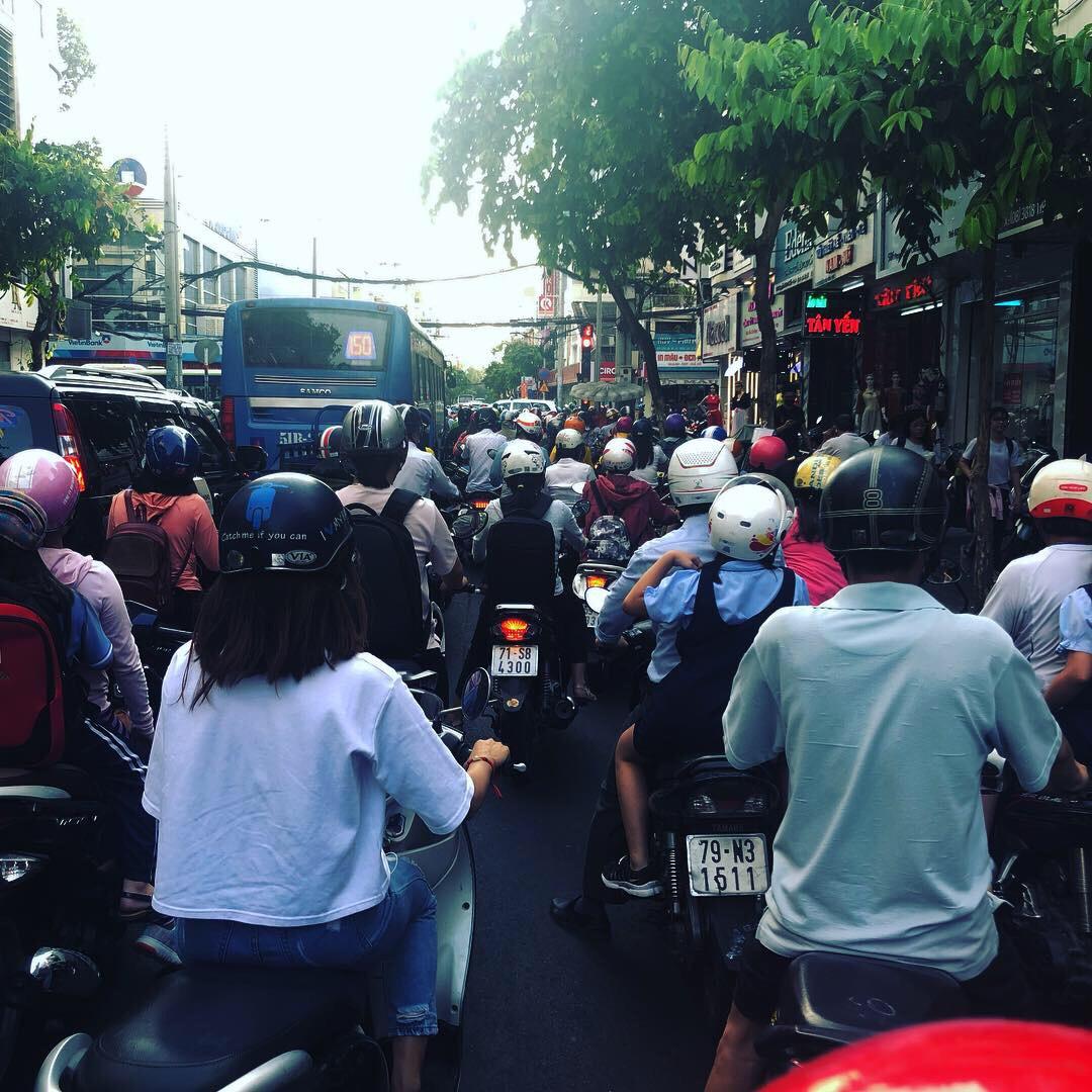 Sài Gòn and Sensory Overload